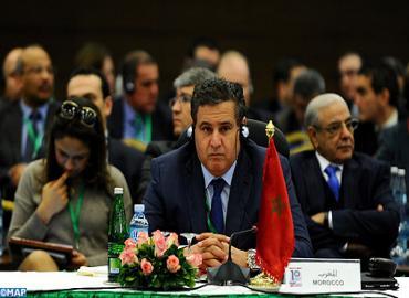 افتتاح أشغال الاجتماع العاشر لوزراء فلاحة الدول الأعضاء بالمركز الدولي للدراسات الزراعية العليا المتوسطية بمشاركة المغرب