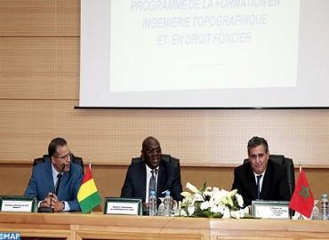 Lancement à Rabat d'un programme de formation en ingénierie topographique et en droit foncier au profit de 130 cadres de l'administration guinéenne