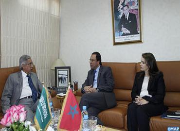 إزالة ملوحة المياه محور مباحثات السيد اعمارة مع وزير المياه والكهرباء السعودي