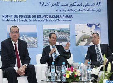 وزير الطاقة والمعادن يقدم بالرباط المخطط الوطني لتطوير الغاز الطبيعي المسال