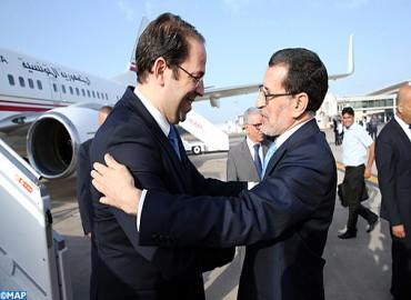 Le chef du gouvernement tunisien en visite de travail au Maroc
