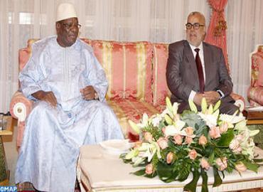 رئيس جمهورية مالي في زيارة إلى  بالمغرب للمشاركة في  فعاليات الدورة التاسعة للمعرض الدولي للفلاحة