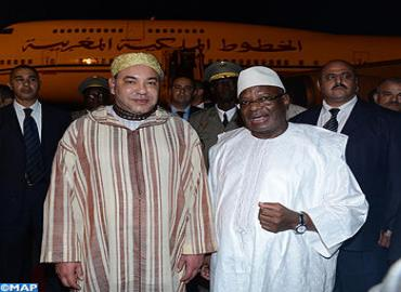 Visite de SM le Roi Mohammed VI au Mali