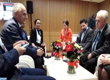 Le Maroc et la Grèce examinent les moyens de hisser les relations bilatérales à un niveau supérieur