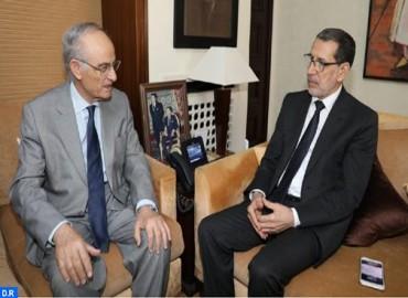 رئيس الحكومة يستقبل وفدا عن أكاديمية الحسن الثاني للعلوم والتقنيات