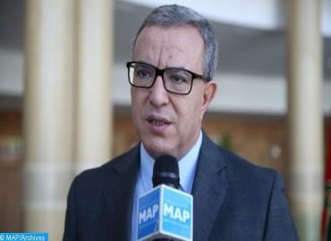 M. Aujjar met en avant les efforts du ministère pour la promotion des prestations sociales offertes aux magistrats et fonctionnaires de la justice
