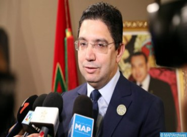 Minister of Foreign Affairs : Opening of Consulates in Southern Provinces Reflects Growing Support for Moroccanness of Sahara in Africa