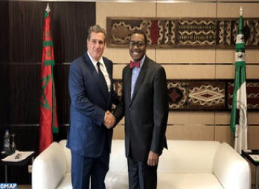Minister of Agriculture Holds Talks in Abidjan with AfDB President