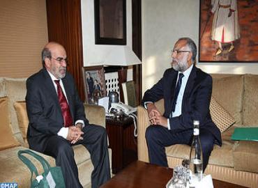 """السيد عبد الله بها يتباحث بالرباط مع المدير العام لمنظمة """"الفاو"""""""