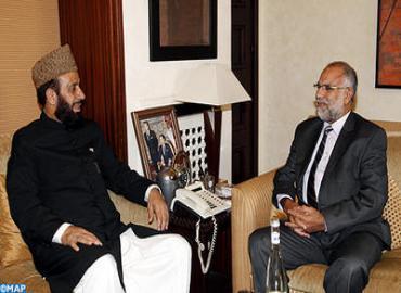 M. Baha s'entretient avec le ministre fédéral pakistanais des Affaires islamiques et de l'harmonie entre les religions