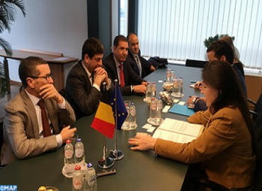 Morocco, Belgium Discuss Means to Develop Bilateral Cooperation in Energy