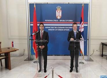 بيان مشترك: إرادة مشتركة للمغرب وصربيا لتكثيف العلاقات الثنائية ودعم أواصرها التعاون