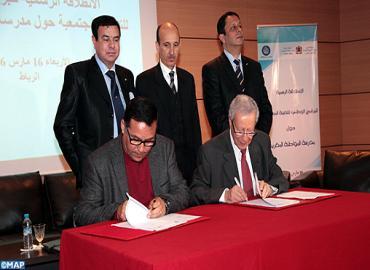 إعطاء انطلاقة البرنامج الوطني للتعبئة المجتمعية حول مدرسة المواطنة المغربية
