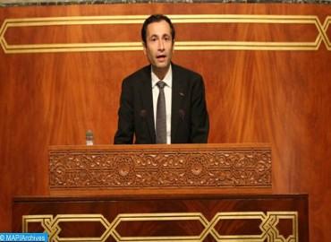 تقديم مشروع قانون المالية  خلال جلسة عمومية مشتركة لمجلسي البرلمان