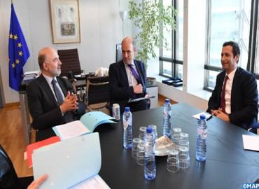 عرض التجربة المغربية في مجال التمويل المستدام في لقاء رفيع المستوى في بروكسل