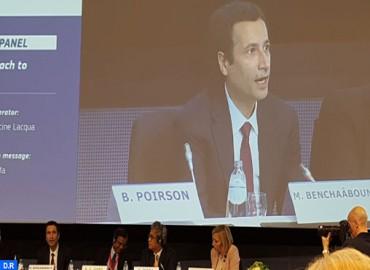 M. Benchaaboun met en exergue à Bruxelles les actions du Maroc dans les domaines du développement et de la finance durables