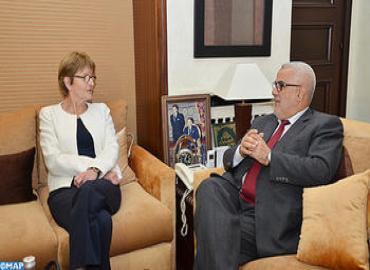 رئيسة الجمعية البرلمانية لمجلس أوروبا في زيارة عمل بالمغرب