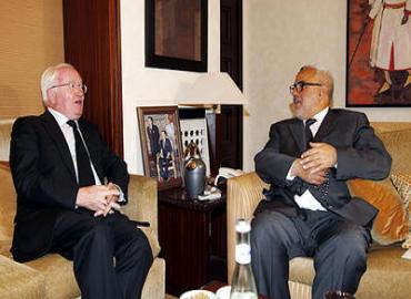 M. Benkirane s'entretient avec un envoyé du PM français