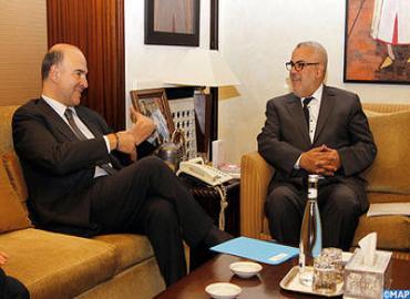 Visite du ministre français de l'Economie et des finances au Maroc