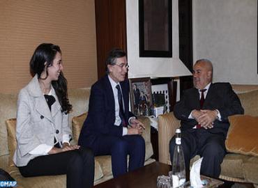 رئيس الحكومة يتباحث مع الأمين العام المساعد للأمم المتحدة المكلف بعمليات التمويل الابتكارية