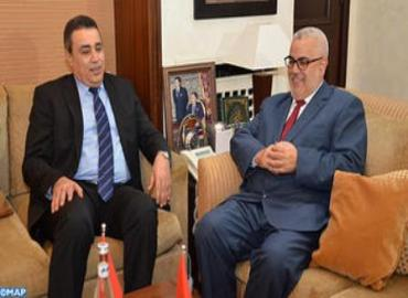 Moroccan Head Of Govrnment Holds Talks With Tunisian Counterpart
