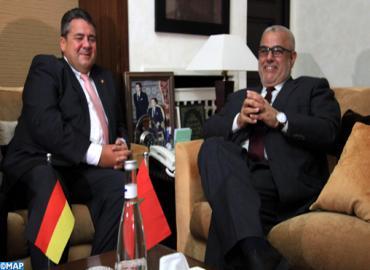 نائب مستشارة ألمانيا الفدرالية، الوزير الفدرالي للاقتصاد والطاقة في زيارة عمل إلى المغرب