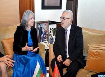 نائبة الرئيس البلغاري في زيارة رسمية إلى المغرب