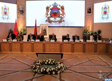 Travaux de la Commission Spéciale sur le Modèle de Développement
