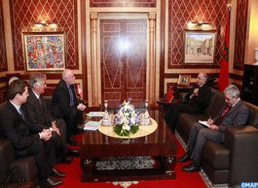 السيد بيد الله يتباحث مع المبعوث الخاص لسويسرا لمنطقة الساحل