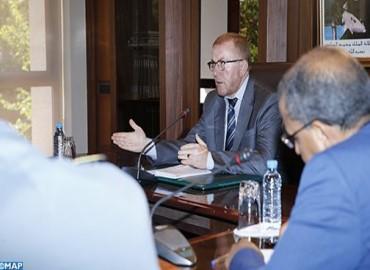 السيد بوليف يترأس اجتماع اللجنة الدائمة للسلامة الطرقية