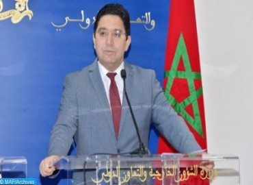 Foreign Minister : Deeply Concerned, Morocco Expresses Rejection of Any Foreign Intervention in Libya