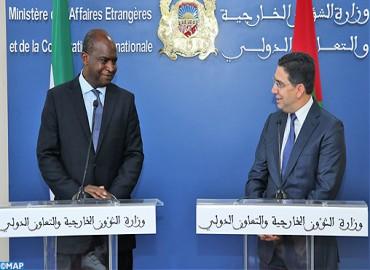 Le ministre des Affaires étrangères de la République de Sierra Leone en visite de travail au Maroc