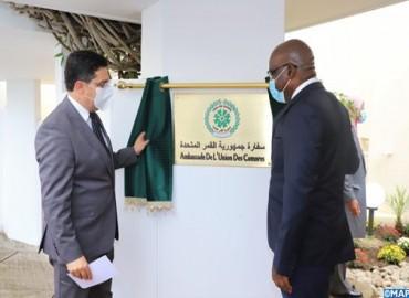 La Unión de las Comoras Inaugura su Embajada en Rabat
