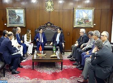 Le leadership spirituel de SM le Roi Mohammed VI hautement salué par le Sénat fédéral du Brésil