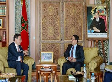 El papel de Marruecos en la estabilidad regional centra una entrevista de Bourita y el coordinador de la UE para el Sahel