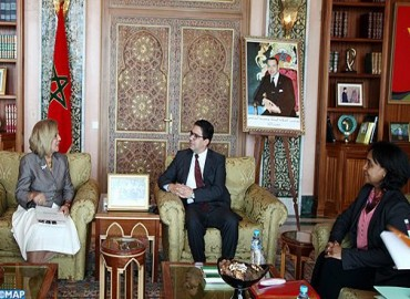 FM Receives Egyptian Candidate for UNESCO Director-general Position