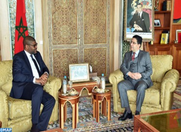 Foreign Minister and Liberian Peer Examine in Rabat Bilateral Ties