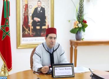 Nuevos embajadores presentan a Bourita copias de sus credenciales