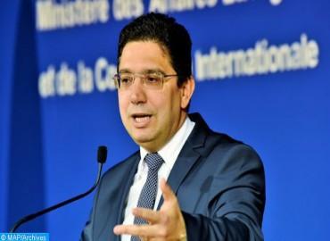 السيد بوريطة يدعو جنوب إفريقيا إلى العمل مع المغرب من أجل انبثاق نموذج جديد للتعاون الإفريقي