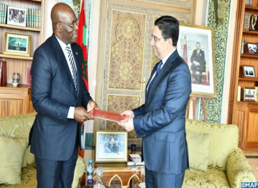 FM Receives Equatorial Guinean Counterpart Carrying Message to HM the King