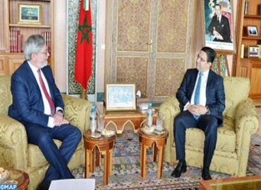 The Official Visit of Ecuadorian Deputy Minister for Foreign Affairs to Morocco