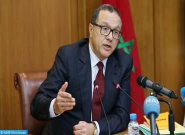 Boussaid présente les grandes lignes du projet de loi portant statut de Bank Al-Maghrib