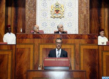 Presentación de las grandes líneas del proyecto de ley de presupuesto 2015 en el Parlamento