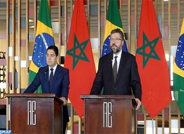 Brasil apoya los esfuerzos de Marruecos para lograr