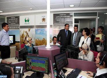 السيد عزيز أخنوش: خدمات مركز التواصل التابع لوزارة الفلاحة ستتوسع لتشمل السلامة الصحية للمنتجات الحيوانية والنباتية