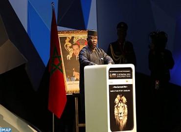 منتدى إفريقيا والتنمية بالدار البيضاء : رئيس جمهوية سيراليون يشيد بريادة جلالة الملك لفائدة التنمية بإفريقيا
