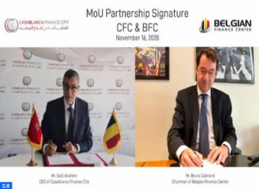 Casablanca Finance City, Belgian Finance Center Seal Partnership