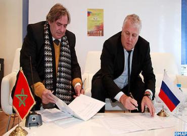 Mémorandum d'entente entre les chambres de commerce et d'industrie de Rabat et de Lipetsk