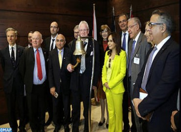 Lord Mayor of London Visits Casablanca Stock Exchange