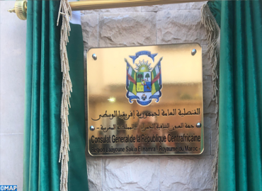 Central African Republic Opens its Consulate General in Laayoune
